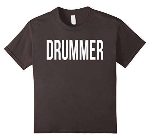 Womens Drummer Boy Costume (Kids Awesome Drummer T-shirt Best Drummer Costume Ever 12 Asphalt)