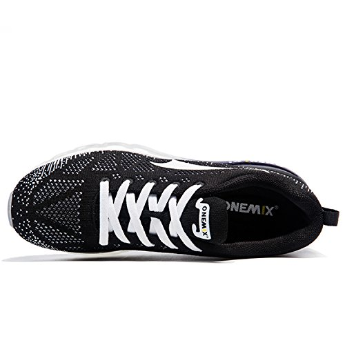 De Blanc Trail Chaussures Noir Fitness Course Entraînement Compétition Femme Running Air Sport Onemix Baskets Gym HT5qp