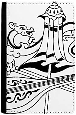 beatChong Dragón Chino Paraguas Espada Pasaporte Dibujo Bolso De Viaje Portatarjetas De La Caja Cubierta De La Carpeta: Amazon.es: Equipaje