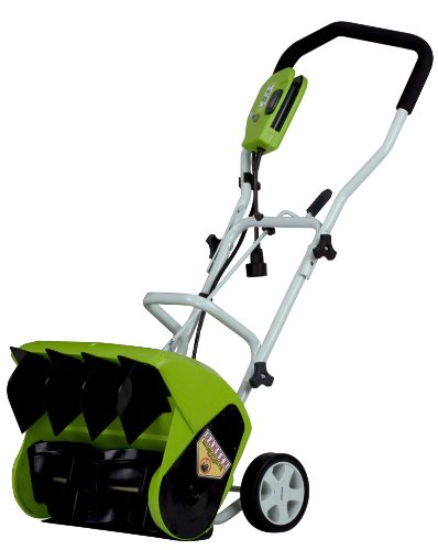 "GreenWorks 26022 10 Amp 16"" Corded Snow Thrower"