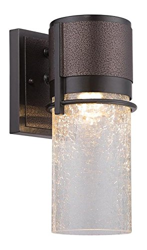 Burnished and Flemish Bronze Baylor 1 Light ADA Compliant Wall Sconce by Designers Fountain