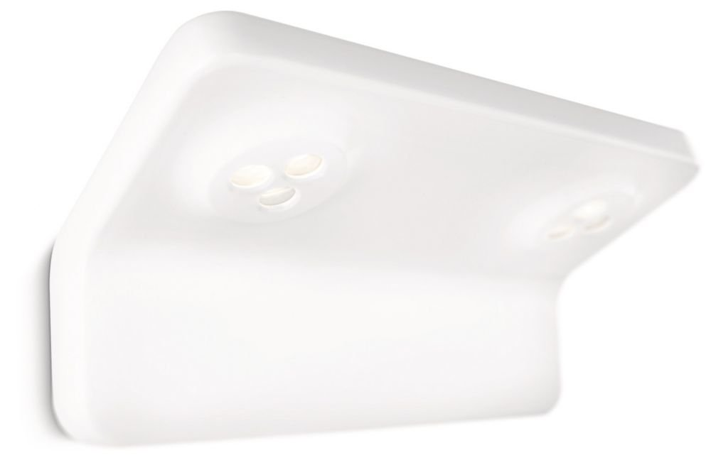 Philips myBathroom Vanitas - Aplique con 2 luces, LED, baño, 7,5 W, color gris 34213/11/16 armario bañoeasy cocina