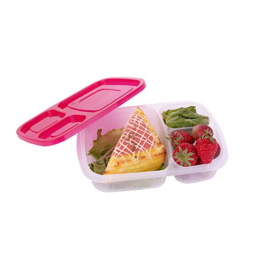 coscov reusable microwavable lunch box food storage containers 7 pack bento b. Black Bedroom Furniture Sets. Home Design Ideas