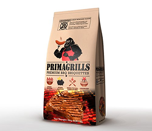 - PRIMAGRILLS PREMIUM BBQ BRIQUETTES 8.81lb bag