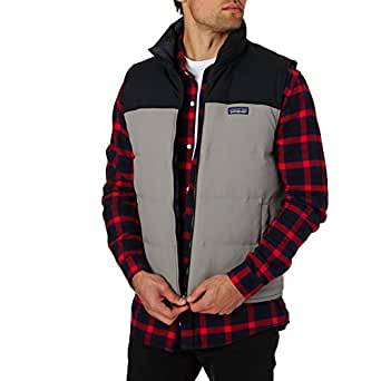 Patagonia Mens Reversible Bivy Down Vest, Feather Grey, XS ...