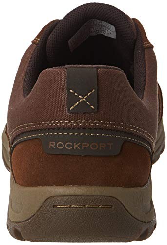 To Derbys 004 Lace tan Toe Harlee Rockport uomo marrone qEHx77