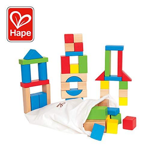 Maple Wood Kids Building Blocks by Hape