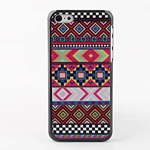 Colorful Stripe Hard Back Case for iPhone 5C 01108207