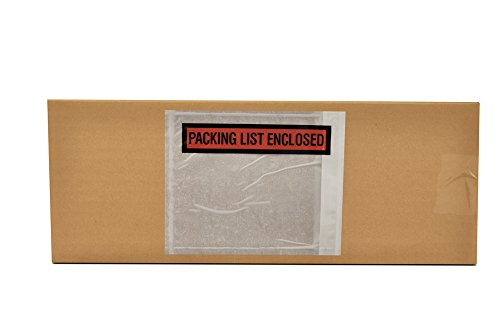 "New 1000 4.5"" X 5.5"" Packing List Enclosed Envelopes Panel Face free shipping"