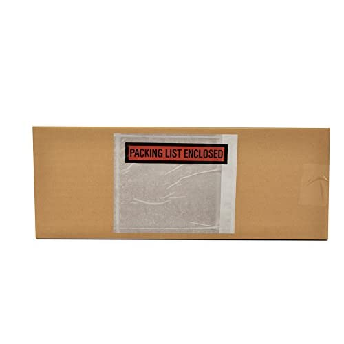 """Hot 1000 4.5"""" X 5.5"""" Packing List Enclosed Envelopes Panel Face"""
