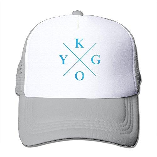 Kygo Mesh Hat Trucker Baseball Cap (5 Colors) Ash - Buy Online in UAE.  7c28a9c71b0