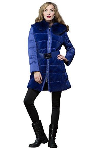 guy-laroche-womens-blue-rex-rabbit-and-fox-fur-mid-length-down-coat