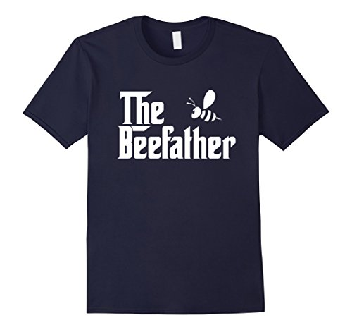 Mens The Bee Father Funny Beekeeper Beekeeping T Shirt Gift Large Navy