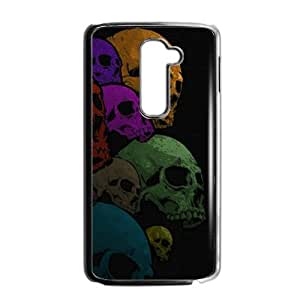Colorful skull Phone Case for LG G2 by icecream design