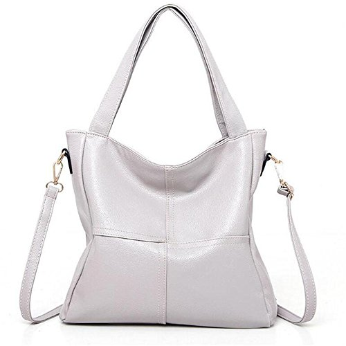 Portable Winter Color Messenger Litchi Bag White Stitching Pattern Big Bag Shoulder And FangYOU1314 Brown Autumn a8xqaZ4