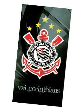 Uiowsbe Authentic Corinthians Soccer Team Beach Towel - Type II | Toalha de Praia Oficial do Corinthians Modelo 02 by Uiowsbe