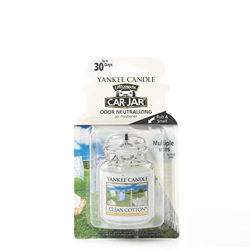- Yankee Candle 5038580005554 one Size car jar Ultimate Clean Cotton YCJUCC1