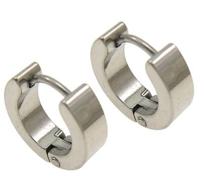 Aritos de argolla de acero inoxidable, 11 mm de diametro ...