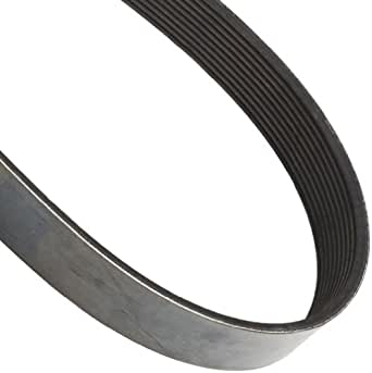 """Continental ContiTech Poly-V V-Belt, 1060M10, Ribbed, 10 Rib, 0.37"""" Width, 0.51"""" Height, 106"""" Nominal Outside Length"""