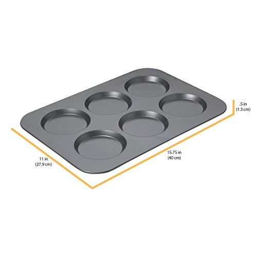Chicago Metallic Professional Non-Stick Muffin Top Pan, 15.75-Inch-by-11-Inch by Chicago Metallic (Image #2)