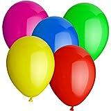 50 Luftballons Ø 30 cm Farbe frei wählbar Ballons Helium Luftballon (Gemischt)