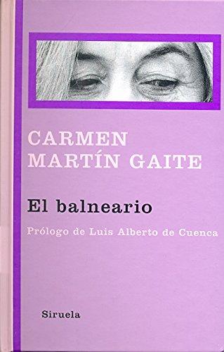 El Balneario Libros Del Tiempo Carmen Martín Gaite Pdf Bapadisi