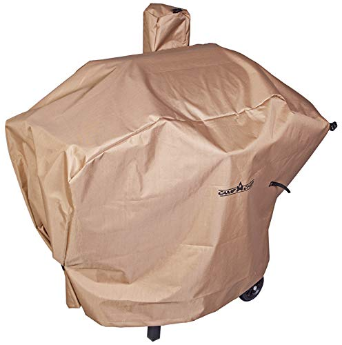 "Camp Chef Weather Resistant Nylon Heavy Duty 24"" Pellet Grill Patio Cover, Tan"
