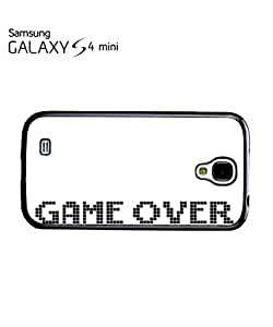 chen-shop design Game Over The End 8 Bit Mobile Cell Phone Case Samsung Galaxy S4 Mini Black high quality