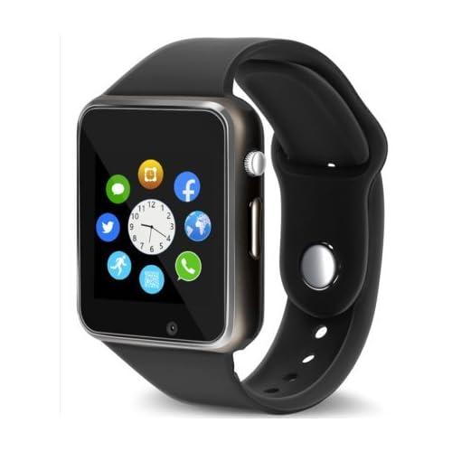 Bluetooth Smart Watch Fitness Tracker, Qidoou Sport Watch Touch Screen Camera Pedometer Sleep Monitor Call