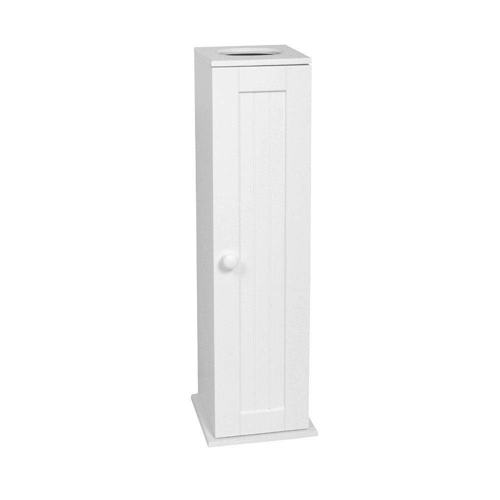 ZPC Zenith Products Corporation Zenith Home Corp E9153WWMV Country Cottage Toilet Tissue Cabinet, White by ZPC Zenith Products Corporation