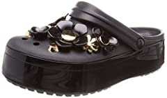 Silver, gold and platinum are as timelessly desirable as they are fashionably relevant. The Crocs statement collection of metallic blooms express our affinity for all things shiny and precious with metallic flower charms and studded metallic ...