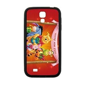 QQQO Disney Tiger & Pooh Design Best Seller High Quality Phone Case For Samsung Galacxy S4 Kimberly Kurzendoerfer