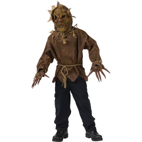 [Evil Scarecrow Costume - Large] (Scary Scarecrow)