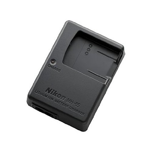 MH-65 Battery charger for Nikon EN-EL12 Battery and Nikon Coolpix AW100, AW100s, AW110, AW110s, P300, P310, P330, S31, S70, S610, S620, S630, S640, S800c, S1000pj, S1100pj, S1200pj, S6000, S6100, S6150, - Coolpix S8000 Battery Nikon
