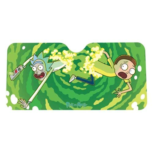 Sonnenblende Decoraci/ón Coche RICK AND MORTY Portal