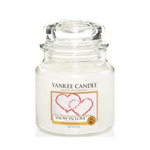 Yankee Candle- Medium Jar Snow In Love 14.5Oz Jar