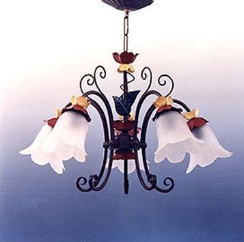 Lámparas de forja : Colección SUSANA. de 60x38cms: Amazon.es ...