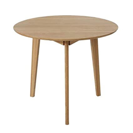 Amazon.com - Dining Tables Round Oak Kitchen Table Modern ...