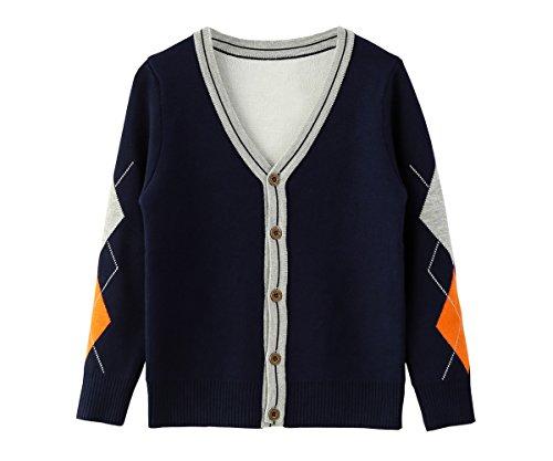 3 Button Cardigan Sweater - 9