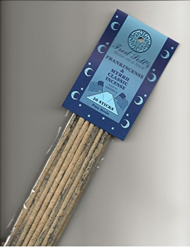 Fred Soll's Frankincense & Myrrh Classic Incense, 20 Sticks