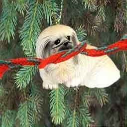 Pekingese Miniature Dog Ornament by Conversation Concepts