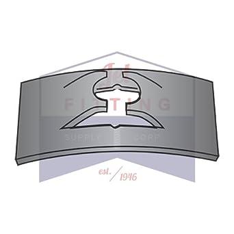 10-32 C430-1032-4 Tinnerman Style Flat-Type Spring Nuts//Steel//Black Phos 3,000 Pc Carton