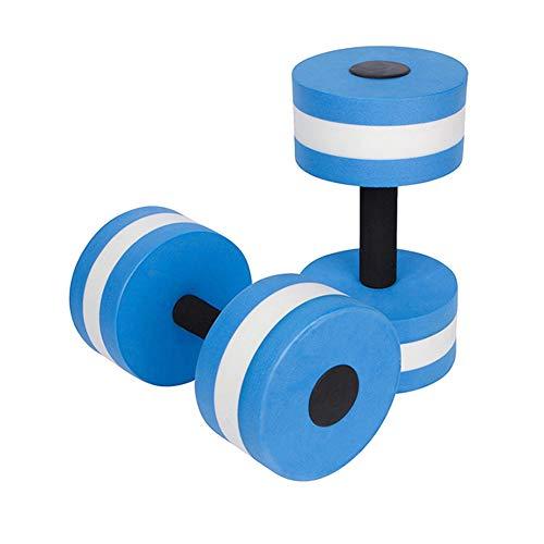 GzxLaY 2PCS/Set Aquatic Exercise Dumbells, EVA Floating Swimming Physical Activities, For Water Aerobics Arm Machines…