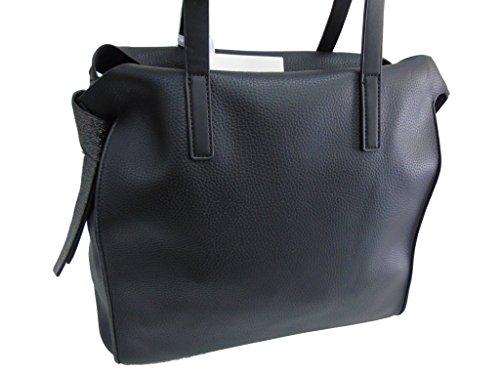 Borsa donna modello shopping a spalla Melas linea soft 810-2 nero
