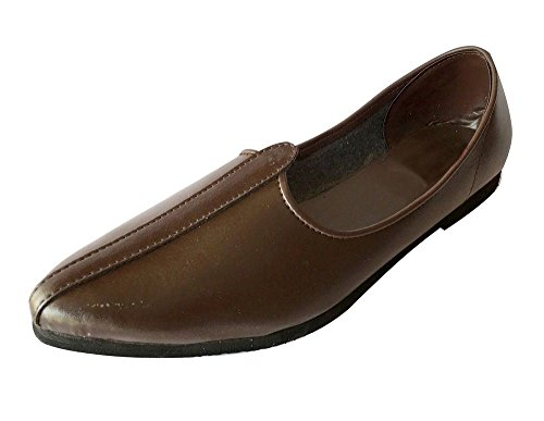 Shoes Jalsa n Brown Style Step Shoes Shoes Casual Shoes Nagra Mens Jutti Indian 0UqgCCw
