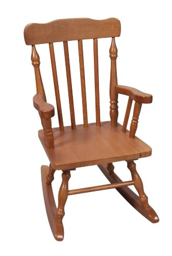 Colonial Rocking Chair, Honey (Childrens Upholstered Rocking Chairs)