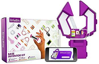 littleBits Base Inventor Kit-voice-activated robotic gripper