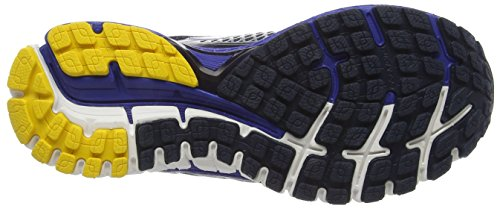 Brooks Defyance 9 M, Zapatillas de Running para Hombre Multicolor (Peacoat/Surftheweb/Lemonchrome)