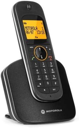 Motorola D1001 - Teléfono inalámbrico, color negro (importado): Amazon.es: Electrónica