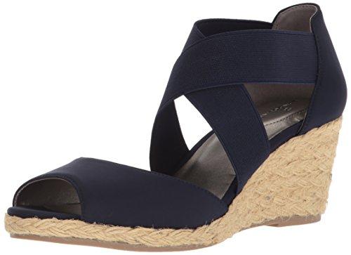 Bandolino Women's HULLEN Sandal, Navy, 7.5 M ()